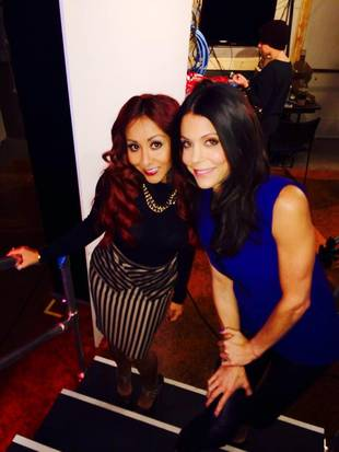 Are Snooki and Bethenny Frankel New Besties? Reality Stars Bond at Talk Show (PHOTO)