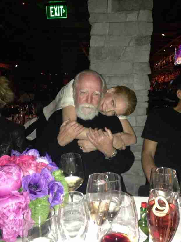 Laurie Holden Celebrates Her Birthday With Scott Wilson (PHOTO)