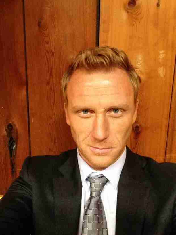 Kevin McKidd Shares Sexy Selfie From April's Wedding (PHOTO)