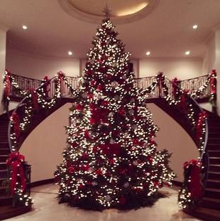Kris Jenner Shows Off the Kardashians' Over-the-Top Christmas Decorations