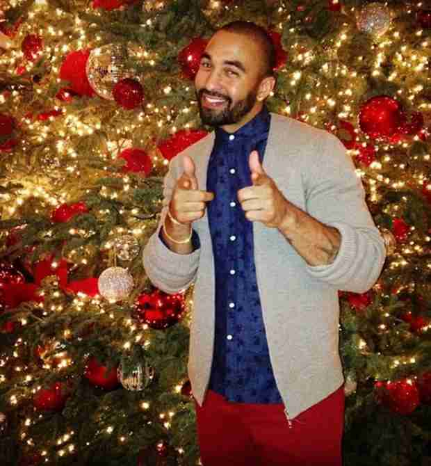 Khloe Kardashian Parties With Matt Kemp at Her Family's Christmas Eve Party — Report