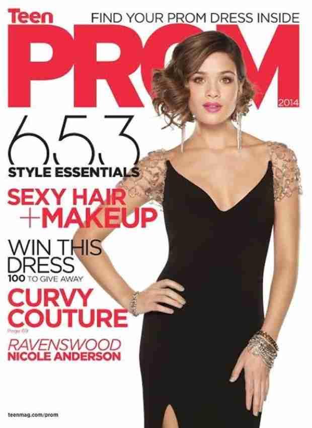 Ravenswood Star Nicole Anderson Covers TeenPROM Magazine! (PHOTO)