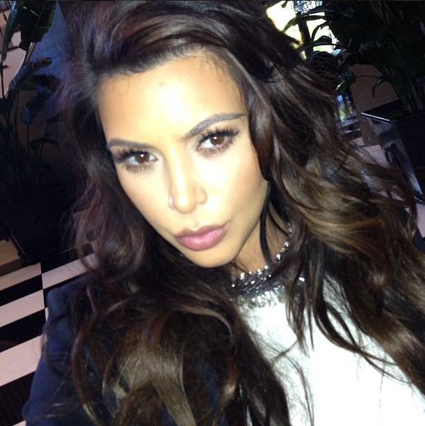 Kim Kardashian Ditches Her Diet in Time For the Holidays