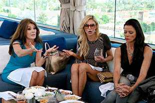 """Brandi Glanville and Kim Richards Had a """"Heart to Heart"""" — Now Brandi Wants to Call People Out!"""