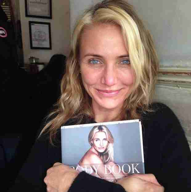 Cameron Diaz Celebrates Project With Makeup Free Selfie and New Video