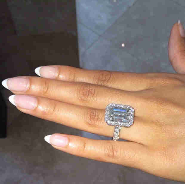 Pregnant Evelyn Lozada Is Engaged! See Her Huge Ring (PHOTO)