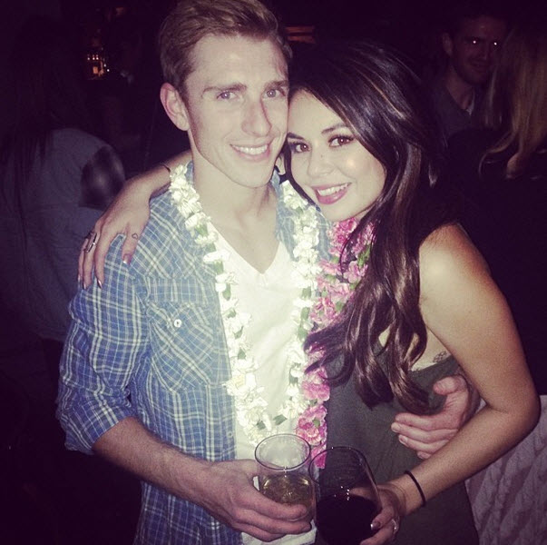Janel Parrish Canoodles With Her Boyfriend After Edges Show (PHOTOS)