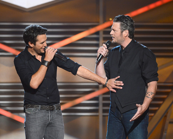 Blake Shelton, Luke Bryan to Host 2014 Academy of Country Music Awards