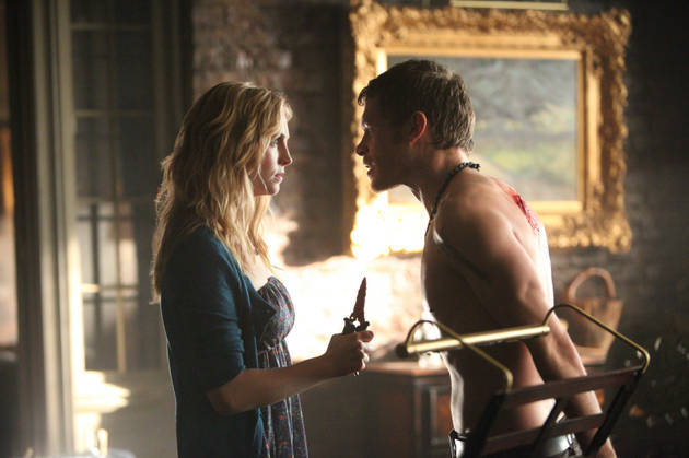 The Vampire Diaries Burning Question: Will Klaus Return to Mystic Falls For Caroline?