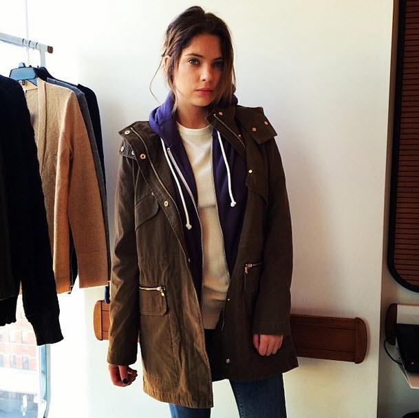 Pretty Little Liars Star Ashley Benson Strips Down to Her Underwear For Indie Film (PHOTO)