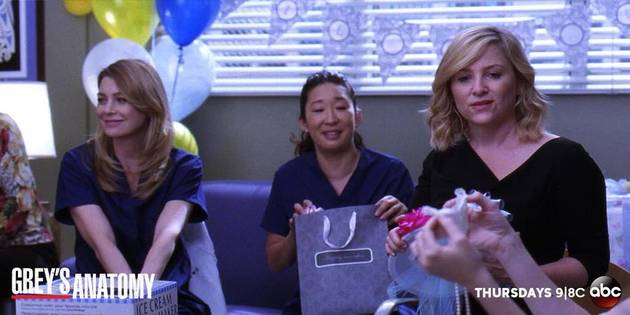 Grey's Anatomy Season 10 Spoilers: First Look at April's Bridal Shower! (PHOTO)