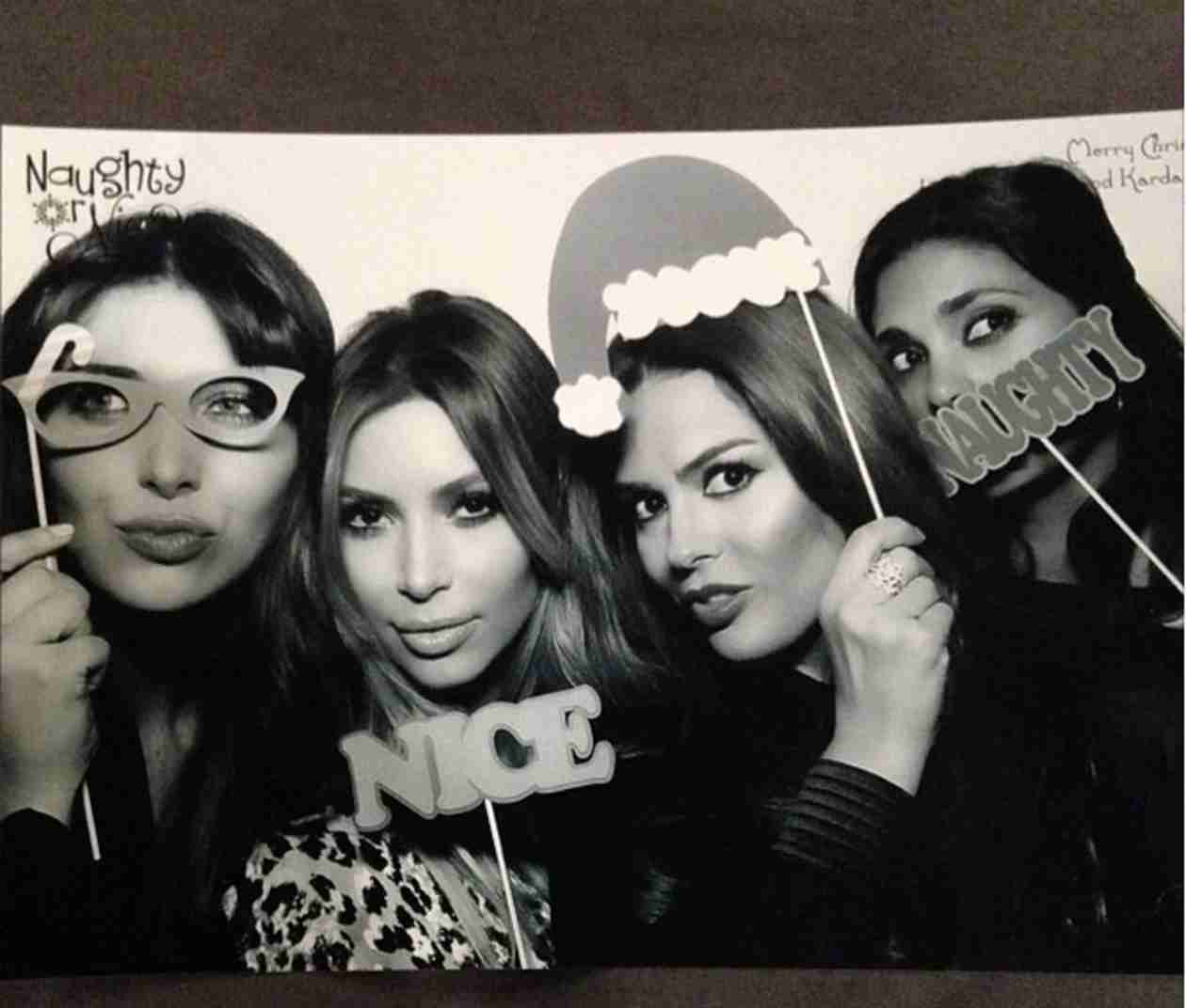 Check Out Photos From the Kardashians' Star-Studded Christmas Bash!
