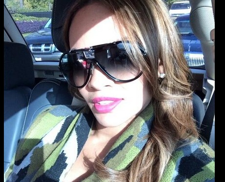 Pregnant Evelyn Lozada Shows Off Her Baby Bump for First Time! (PHOTO)