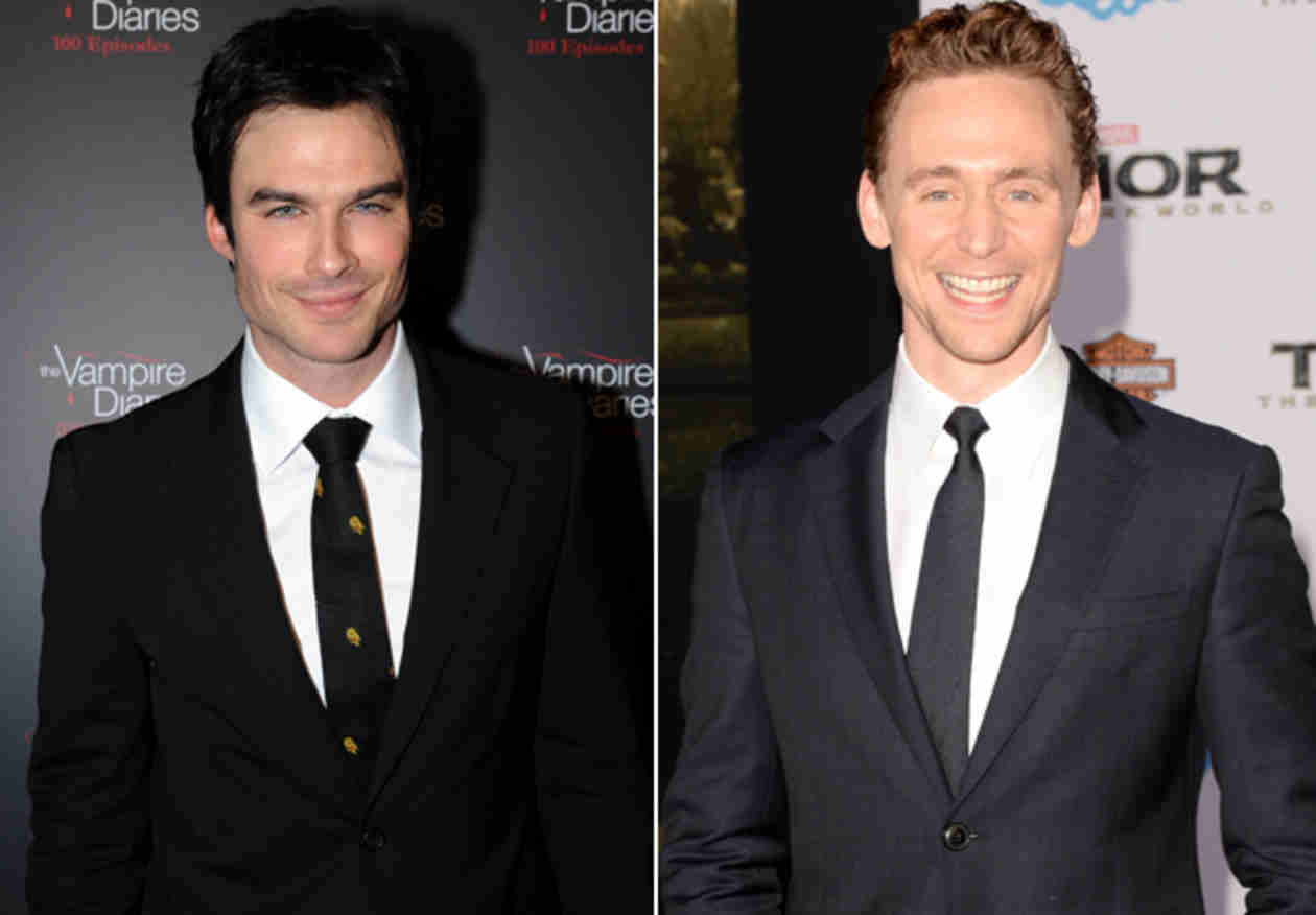 Ian Somerhalder vs. Tom Hiddleston: Who Is the Sexier Celeb of the Year?