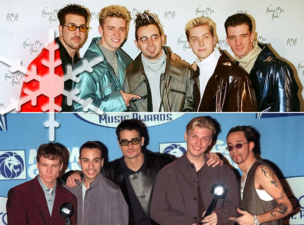 Backstreet Boys vs. 'NSync: Which '90s Boy Band Had the Better Christmas Single? (POLL)