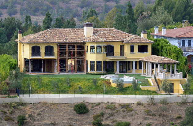 Kim Kardashian and Kanye West's $11M Mansion — Completely Gutted! (PHOTOS)
