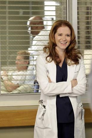 Grey's Anatomy Season 9: Sarah Drew Talks April/Jackson, the ER, and More (VIDEO)