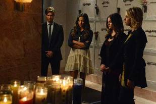 Pretty Little Liars Season 3, Episode 18 Spoiler Roundup: A Burial, Hypnotherapy, and Provocative Scenes
