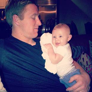 Kroy Biermann Poses For Adorable Daddy and Son Pic — Look How Big Kash Kade Is Now! (PHOTO)