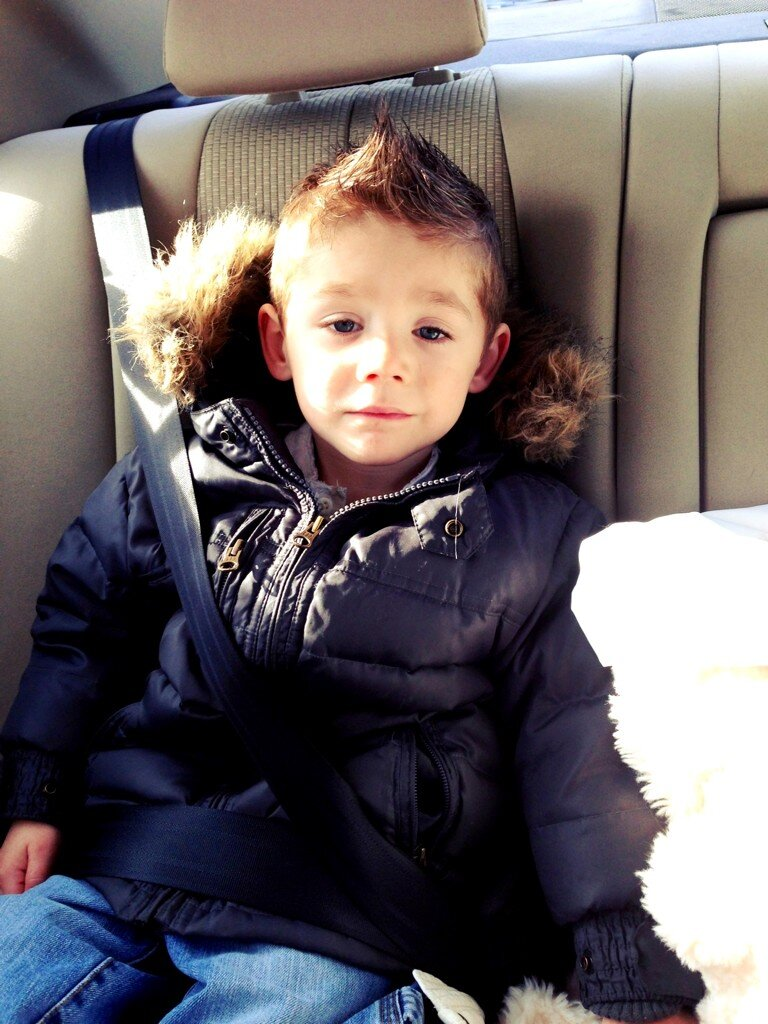 Jenelle Evans's Son Jace Is All Grown Up and Rocking a Fauxhawk! (PHOTO)