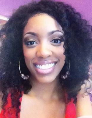 Porsha Stewart Is Nearly Unrecognizable With Big, Curly Hair! (PHOTO)