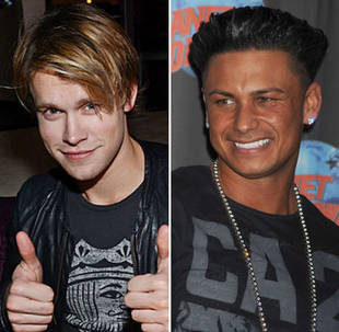 Which Glee and Jersey Shore Stars Partied Together in Vegas?