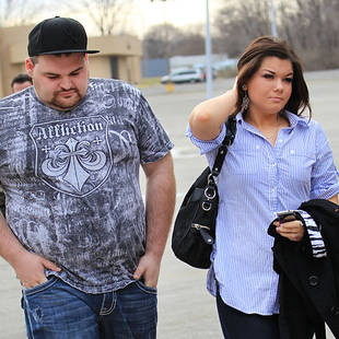 Teen Mom's Gary Shirley and Amber Portwood Snuggle Together in Bed — Flashback! (PHOTO)