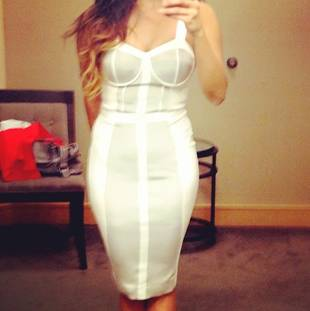 "Is This Catherine Giudici's ""After The Final Rose"" Dress? (PHOTO)"