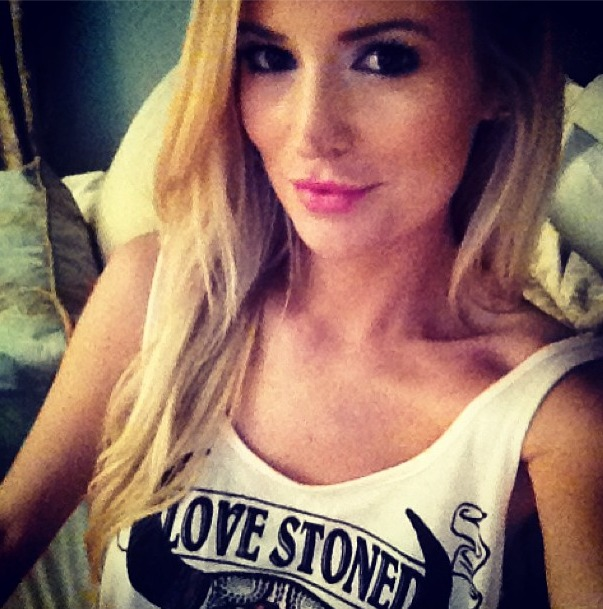 "Emily Maynard Wears ""Stoned"" T-Shirt –– What Does It Mean?"