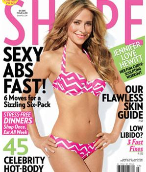 Jennifer Love Hewitt: Why It's a Big Deal She's in a Bikini on Shape Cover at 34