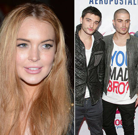 """The Wanted's Max Admits He and Lindsay Lohan Did """"Snog"""""""