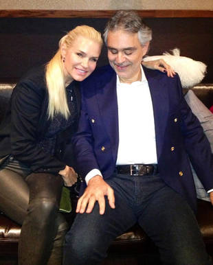 """Real Housewives' Yolanda Foster Cozies Up to Her """"Italian Boyfriend"""" (PHOTO)"""