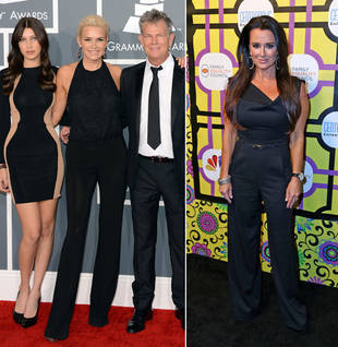 Yolanda Foster vs. Kyle Richards, Battle of the Pantsuits: Who Wore It Best?