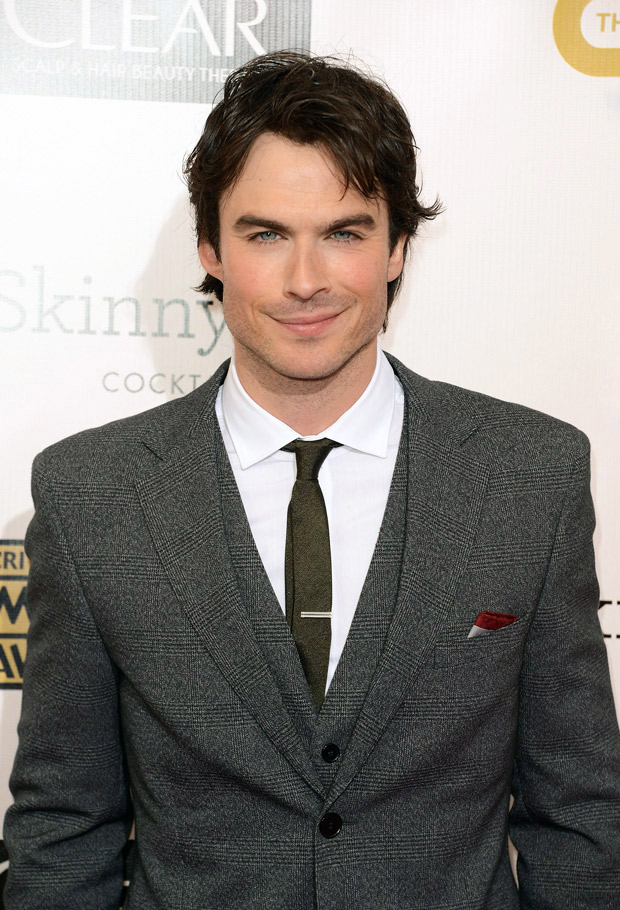 Is Ian Somerhalder Starting a New Business?