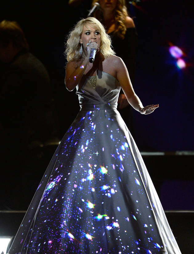 "Grammys 2013: Carrie Underwood ""Blown Away"" Wins Best Country Solo Performance"