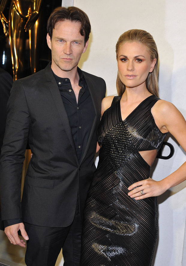 Anna Paquin Shows Off Super Slim Post-Baby Body With Husband Stephen Moyer