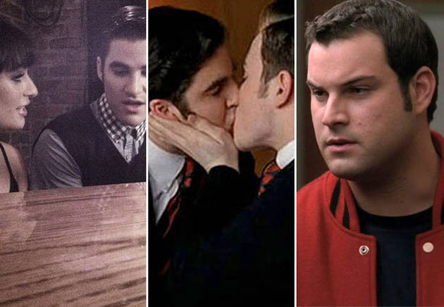 Glee's Top 10 Most Shocking Kisses Ever!