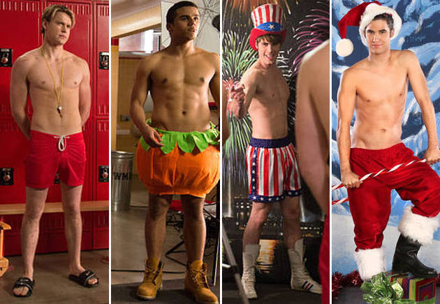 "Glee's ""Naked"": Who Went Topless, Shirtless, and Who Was Totally Nude?"