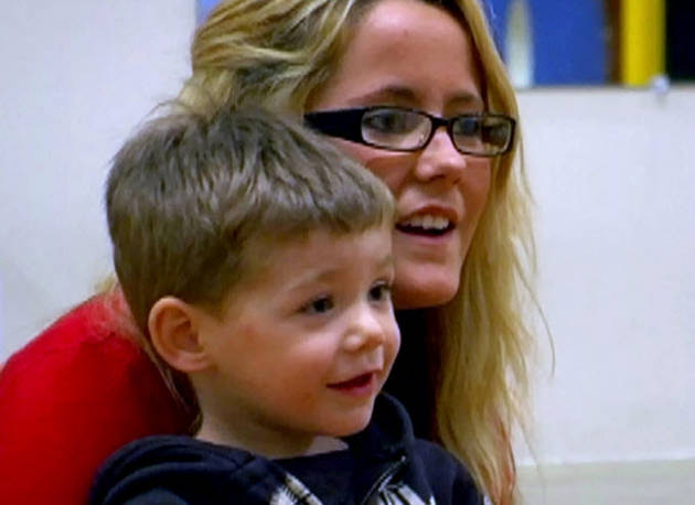 Jenelle Evans Spends Time With Son Jace! (PHOTO)
