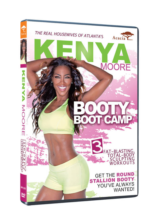 Kenya Moore Defends Stallion Booty DVD, Slams Donkey Booties