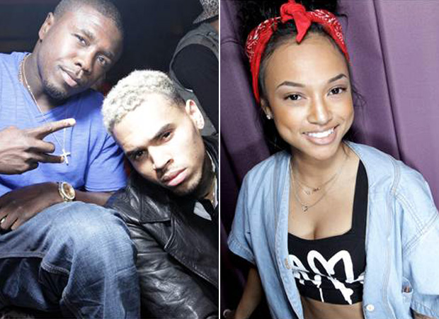 Chris Brown and Rihanna Avoid Karrueche Tran at Super Bowl 2013 Party in Los Angeles