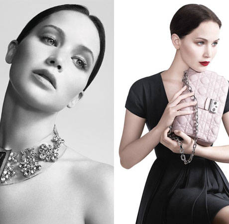 Jennifer Lawrence Is a Classic Beauty in Miss Dior Campaign Photos