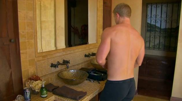 Bachelor Sean Lowe's Best Shirtless (and Pantless) Moments From Episode 4!