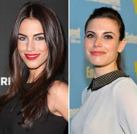 Meghan Ory and Jessica Lowndes: Celebrity Lookalike Alert!