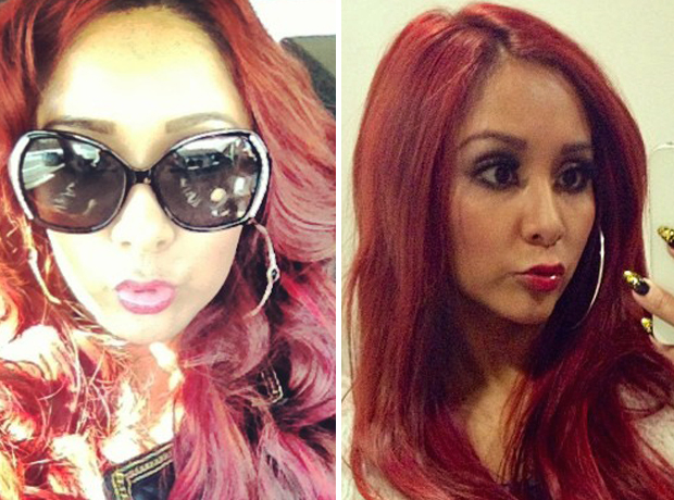 Does Snooki Look Better With Sunglasses or Without? (PHOTOS)