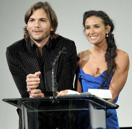 """Demi Moore Is Tired of Divorce Talks With """"Hostile"""" Ashton Kutcher: Report"""