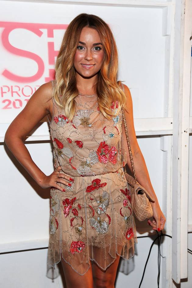 Kristin Cavallari Wears Dress Designed by Lauren Conrad!