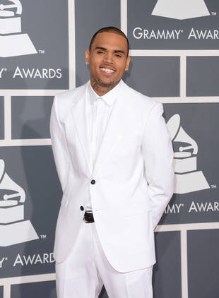 Chris Brown Reacts to Glee Violence Diss