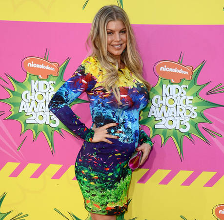 Pregnant Fergie Plans to Keep Rock 'n' Roll Style as Bump Grows