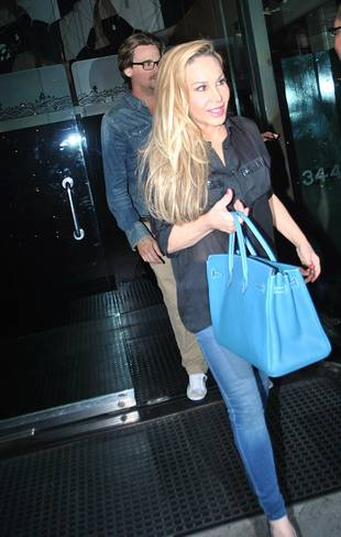 Adrienne Maloof and Sean Stewart Spotted Having Dinner! (PHOTOS)